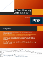 Oregon Deer Hunting Stats 1952-2011