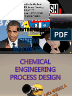 Chemical Engineering Process Design 1st Group