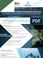 Operaciones submarinas con R.O.V