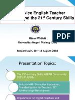 Prof. Utami Widiati, m.a., Ph.d - Seminar Nasioal Apspbi - Ulm-bjm