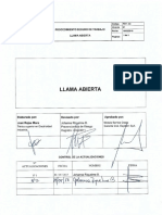 Pst-03 Llama Abierta