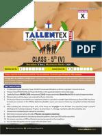 Tallentex 2017 Paper 2 5