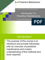 Fundamentals of Predictive Maintenance