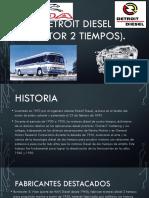 Detroit Diesel (Motor 2 Tiempos)