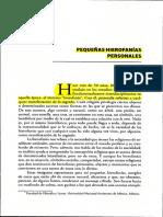 3 Pequeñas Hierofanias Personales