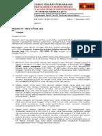 SURAT No.63 Surat Penolakan PHK