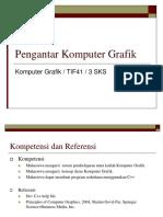 3. Pengantar Komputer Grafik 2019