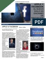 Apple y Facebook