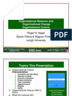 Organizational Behavior and Organizational Change Organizational ...