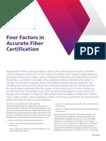 Cuatro factores en la certificación Precisa de FO