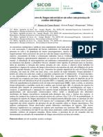 Quantificação de Esporos de Fungos Micorrízicos Em Solos Com Presença de Resíduo Siderúrgico
