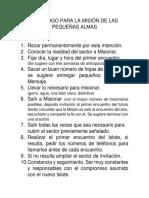Decálogo Para La Misión de Las AP