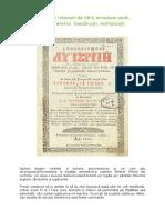 Carti Ortodoxe Vechi Nemodificate de Eretici