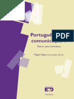 Programa_livro_Portugues Para Comunicacao I - Magda Regina Lourenco Cyrre
