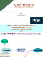 Teknik Analisis
