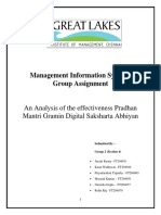 effectiveness Pradhan Mantri Gramin Digital Saksharta Abhiyan