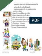 Prevención de Accidentes Por Golpes o Caídas Dentro Del Establecimiento Educativo