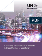 Environmental Impacts Legislation