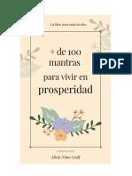 100 mantras para la prosperidad