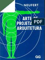 Neufert - A Arte de Projetar Em Arquitetura