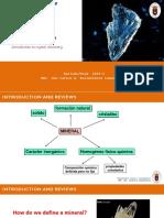 4. Clase 4 - Septiembre07- IntroCristaloq - Cristaloquímica I