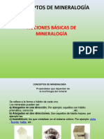 nocion basica minerologia