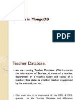 mongo db basic commands