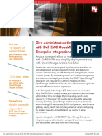 Give administrators time back with Dell EMC OpenManage Enterprise integrations