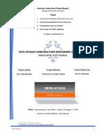 internship report Tata Hitachi (VIPUL MUDGAL).pdf