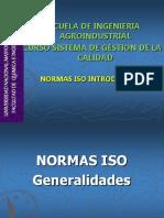 Quinta Clase Normas ISO Introduccion UNMSM