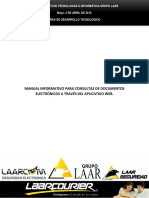 Consulta de Documentos Electronicos Laarcom