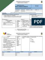 Plan de Destrezas Con Criterio de Desempeño (Plan de Clasaes)