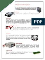 PARTES INTERNAS DEL PC