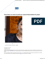 Paola Pabón Con Orden de Prisión Por Supuesto Financiamiento de Grupos