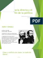 Democracia Directa y El Fin de La Política