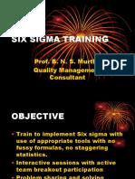 Six Sigma Training Seminar