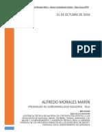1. Informe Octubre 2016 - Alfredo Morales Usaid Rga