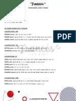guide de verbes modèles 3e groupe