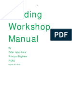 Welding Workshop Manual