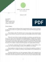 Lightfoot Letter to Sharkey