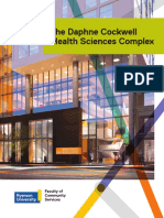 The Daphne Cockwell  Health Sciences Complex