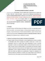 Contestacion de Demanda (Huanuco)