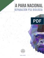 (Biología Para Nacional 2019 - Muestra)