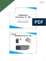 Configuracion plc