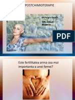 oncofertilitatea prezentare modificata