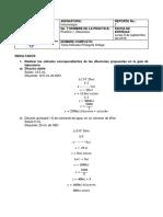 Informe 1- Diluciones -T Pinargote- Inmunología Laboratorio