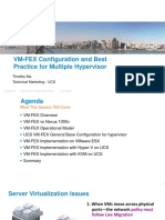 VM-FEX Configuration & Best Practice for Multiple Hypervisor