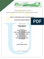 Unidad III. Termodinámica Química y Equilibrio Químico