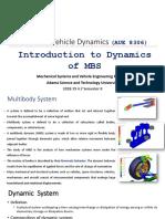 2 MultiBody Dynamics