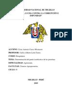2-Determinacion Del Punto Isoeléctrico y Solubilidad de La Caseína